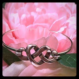 James Avery Heart Knot Bracelet